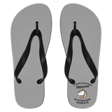 You May Have Stopped Believing In Unicorns Flip Flops - Apparel - Rebel Style Shop