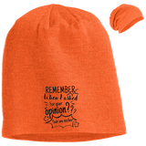 Remember When I Asked For Your Opinion??? Slouch Beanie - Hats - Rebel Style Shop