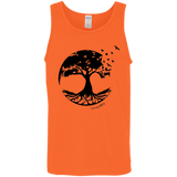 Tree of Life Cotton Tank Top 5.3 oz. - T-Shirts - Rebel Style Shop