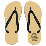 I May Be Quiet But I'm A Warrior Flip Flops - Apparel - Rebel Style Shop