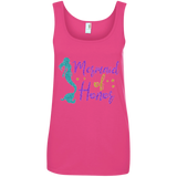 Mermaid Of Honor Ladies' 100% Ringspun Cotton Tank Top