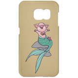 Mermaid Pig Samsung Galaxy S7 Phone Case - Phone Cases - Rebel Style Shop
