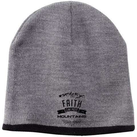 Faith Can Move Mountains Beanie - Apparel - Rebel Style Shop