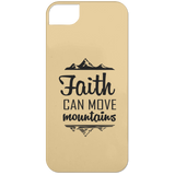 Faith Can Move Mountains iPhone 5 Case - Phone Cases - Rebel Style Shop