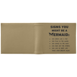 Signs You Might Be A Mermaid Wallet new