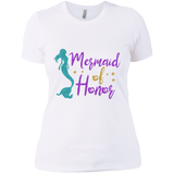 Mermaid Of Honor Ladies' Boyfriend T-Shirt