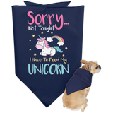 Sorry... Not Tonight Doggie Bandana - Pet Accessories - Rebel Style Shop