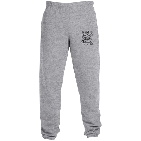 Remember When I Asked For Your Opinion??? Sweatpants with Pockets - Pants - Rebel Style Shop