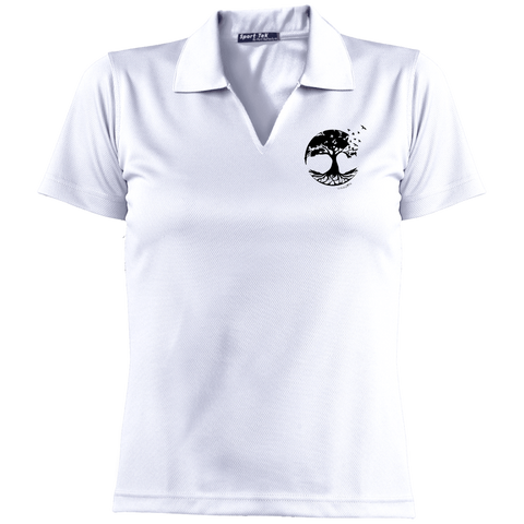 Tree of Life Ladies' Dri-Mesh Short Sleeve Polo - Polo Shirts - Rebel Style Shop