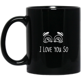 47_2_white I Love You So Mugs - Apparel - Rebel Style Shop