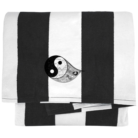 Gothic Yin Yang Towels - Apparel - Rebel Style Shop