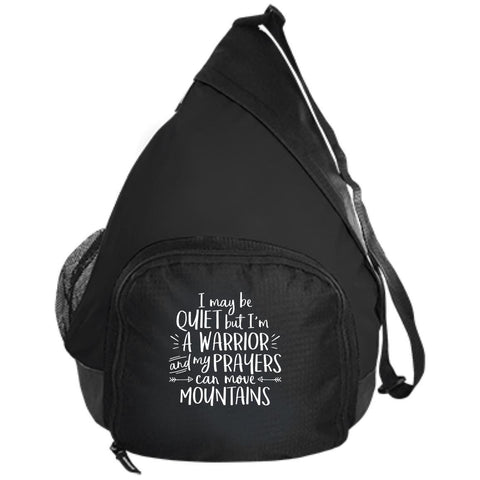 I May Be Quiet But I'm A Warrior Bags - Apparel - Rebel Style Shop