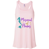 Mermaid Of Honor Flowy Racerback Tank - T-Shirts - Rebel Style Shop