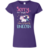 Sorry... Not Tonight Softstyle Ladies' T-Shirt
