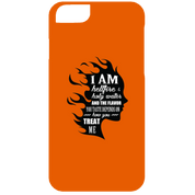 "Feminist Phone Cases - ""I Am Both Hellfire And Holy Water, And The Flavor You Taste Depends On How You Treat Me"""