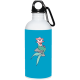 Mermaid Pig Stainless Steel Water Bottle - Drinkware - Rebel Style Shop