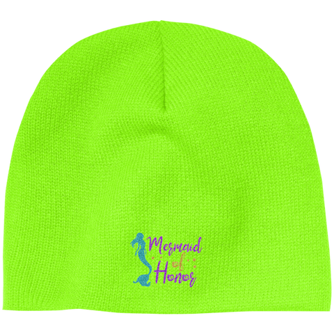 Mermaid Of Honor 100% Acrylic Beanie - Hats - Rebel Style Shop