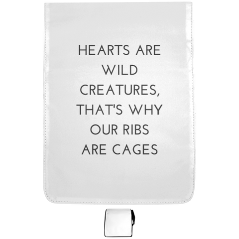 Hearts Are Wild Creatures Medium Shoulder Bag
