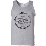 Cast All Your Anxiety On Him 100% Cotton Tank Top - T-Shirts - Rebel Style Shop