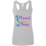 Mermaid of Honor Ladies' Softstyle Racerback Tank