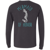 Mermaid Of Honor Men's Jersey LS T-Shirt