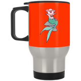 Mermaid Pig Stainless Travel Mug