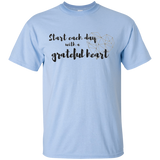 Start Each Day With A Grateful Heart Ultra Cotton T-Shirt