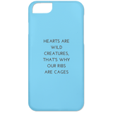Hearts are Wild Creatures Phone 6 Case - Phone Cases - Rebel Style Shop