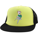 Mermaid Pig District Trucker Hat with Snapback