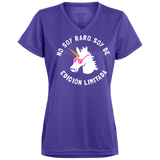 No Soy Raro, Soy De Edicion Limitada Ladies' Wicking T-Shirt - T-Shirts - Rebel Style Shop