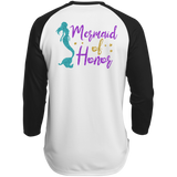 Mermaid Of Honor Polyester Game Baseball Jersey - T-Shirts - Rebel Style Shop