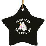 "Funny Necklaces And Tags - ""I'm Not Weird, I'm A Unicorn"""