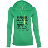 Remember When I Asked For Your Opinion? Ladies' LS T-Shirt Hoodie - T-Shirts - Rebel Style Shop