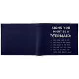 Signs You Might Be A Mermaid Wallet - Apparel - Rebel Style Shop