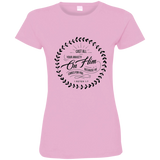 Cast All Your Anxiety On Him Ladies' Fine Jersey T-Shirt