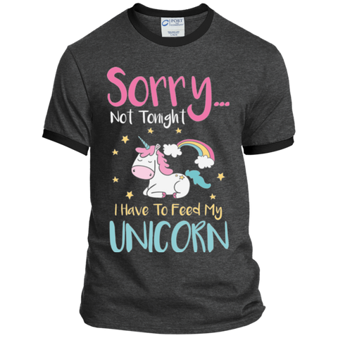 Sorry... Not Tonight Ringer Tee
