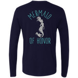 Mermaid Of Honor Men's Premium LS
