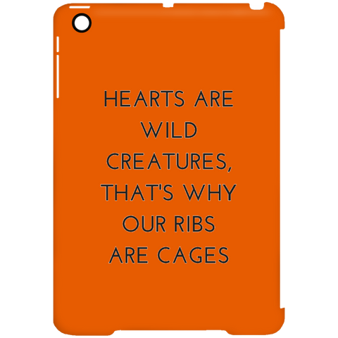 Hearts are Wild CreaturesiPad Mini Clip Case - Tablet Covers - Rebel Style Shop