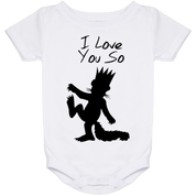 I Love You So Baby Onesie 24 Month