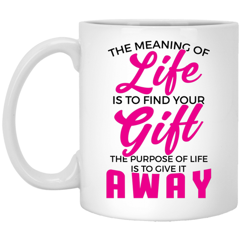The Meaning Of Life Mugs