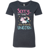 Sorry... Not Tonight Ladies' Triblend T-Shirt