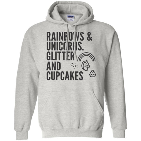 Rainbows And Unicorns, Glitters And Cupcakes Sweater - Apparel - Rebel Style Shop