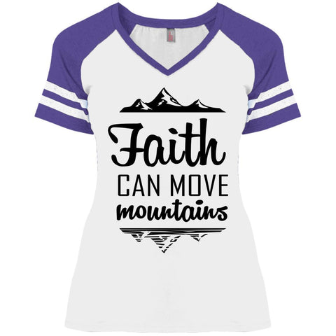 Faith Can Move Mountains Ladies Shirts