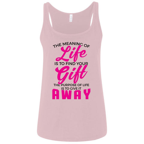 The Meaning Of Life Ladies Tank Tops