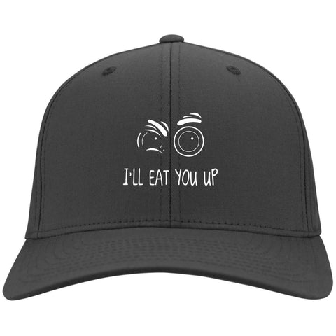 47_white I'll Eat You Up Caps - Apparel - Rebel Style Shop