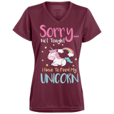 Sorry... Not Tonight Ladies' Wicking T-Shirt - T-Shirts - Rebel Style Shop