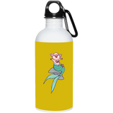 Mermaid Pig Stainless Steel Water Bottle