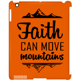 Faith Can Move Mountains iPad Clip Case - Tablet Covers - Rebel Style Shop