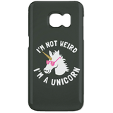 "Funny Phone Cases - ""I'm Not Weird, I'm A Unicorn"""