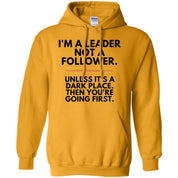 "Funny Sweater - ""I'm A Leader, Not A Follower"""